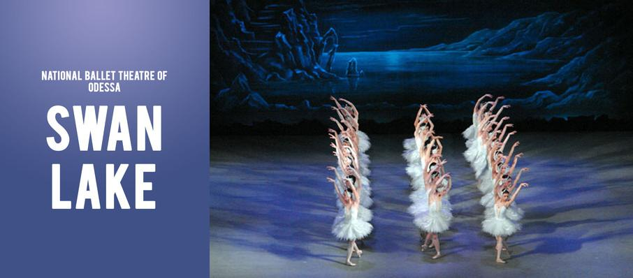 National Ballet Theatre of Odessa - Swan Lake at Curtis Phillips Center For The Performing Arts