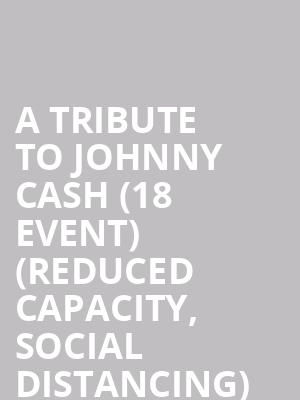A Tribute to Johnny Cash (18+ Event) (Reduced Capacity, Social Distancing) at High Dive Gainesville