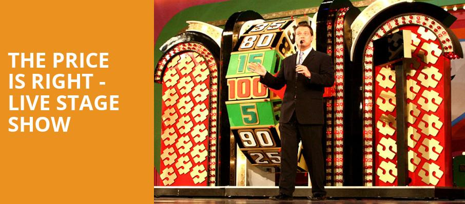 The Price Is Right Live Stage Show, Stephen C OConnell Center, Gainesville